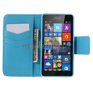 Peněženkové pouzdro Microsoft Lumia 535 - vodní květ - 2