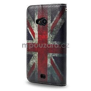 Peněženkové pouzdro Microsoft Lumia 535 - UK vlajka - 2