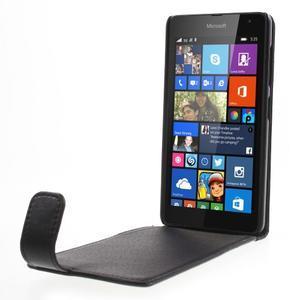 Flipové pouzdro na Microsoft Lumia 535 - černé - 2