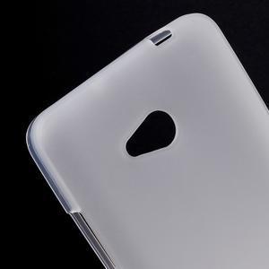 Matný gelový kryt na Microsoft Lumia 640 LTE - bílý - 2
