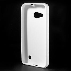 S-line gelový obal na mobil Microsoft Lumia 550 - bílý - 2