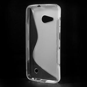 S-line gelový obal na mobil Microsoft Lumia 550 - transparentní - 2