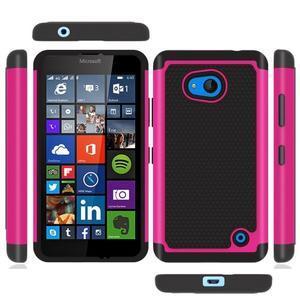 Odolný hybridní kryt na mobil Microsoft Lumia 640 - rose - 2