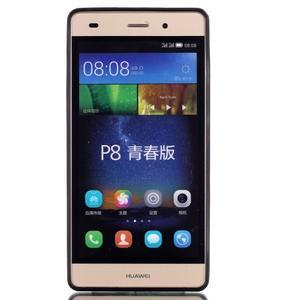 Gelový obal na mobil Huawei Ascend P8 Lite - chlapec a pampeliška - 2