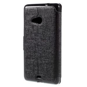 Solid pouzdro na mobil Microsoft Lumia 535 - černé - 2