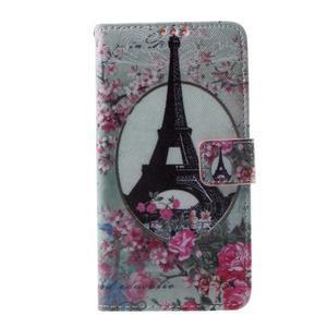 Cross peněženkové pouzdro na Huawei Honor 7 - Eiffelova věž - 2