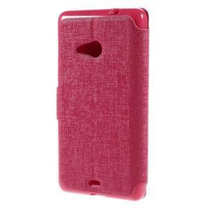Solid pouzdro na mobil Microsoft Lumia 535 - rose - 2
