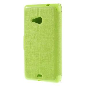 Solid pouzdro na mobil Microsoft Lumia 535 - zelené - 2