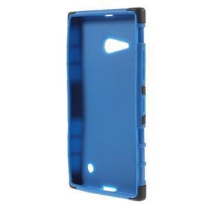 Outdoor odolný kryt na Nokia Lumia 730/735 - modrý - 2