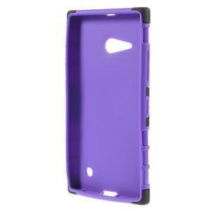 Outdoor odolný kryt na Nokia Lumia 730/735 - fialový - 2