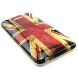 Soft gelový obal na Asus Zenfone 5 - UK vlajka - 2