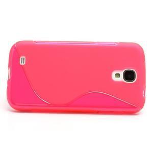 S-line gelový obal na Samsung Galaxy S4 - rose - 2