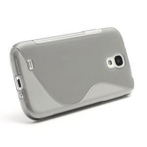 S-line gelový obal na Samsung Galaxy S4 - šedý - 2