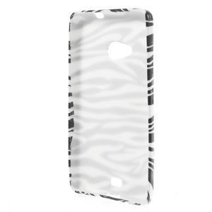 Soft gelový obal na Microsoft Lumia 535 - zebra - 2