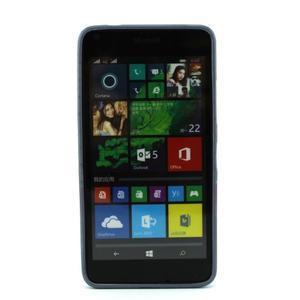 Gelový kryt na mobil Microsoft Lumia 640 - motýlek - 2