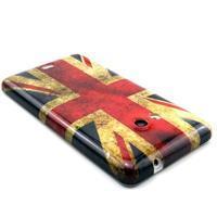 Gelový kryt na Microsoft Lumia 535 - UK vlajka - 2/3