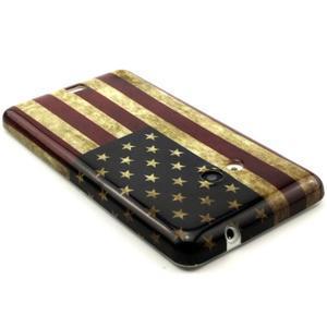Gelový kryt na Microsoft Lumia 535 - US vlajka - 2