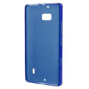 Matný gelový kryt pro Nokia Lumia 930 - modrý - 2