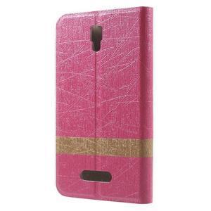 Linie pouzdro na mobil Lenovo A2010 - rose - 2