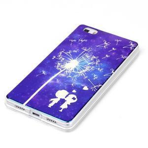Blu-ray magic gelový obal na Huawei Ascend P8 Lite - zamilovaný pár - 2