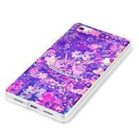 Blu-ray magic gelový obal na Huawei Ascend P8 Lite - květiny - 2/3