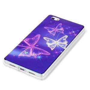 Blu-ray magic gelový obal na Huawei Ascend P8 Lite - kouzelní motýlci - 2
