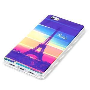 Blu-ray magic gelový obal na Huawei Ascend P8 Lite - Eiffelova věž - 2
