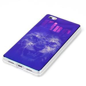 Blu-ray magic gelový obal na Huawei Ascend P8 Lite - king - 2