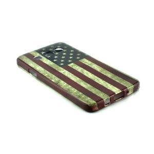 Gelový kryt na Samsung Galaxy A3 - vlajka USA - 2