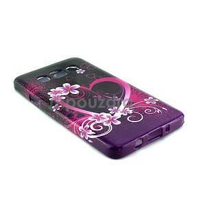 Gelový kryt na Samsung Galaxy A3 - srdce - 2