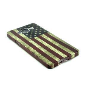 Gelový kryt Samsung Galaxy A5 - vlajka USA - 2