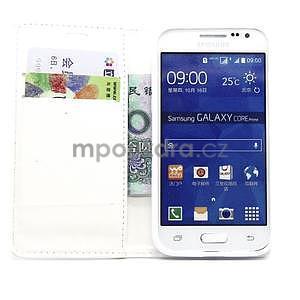 Bílé pouzdro na Samgung Galaxy Core Prime - 2