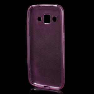 Ultra tenký slim obal na Samsung Galaxy Core Prime - růžový - 2
