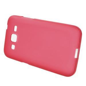 Červený matný gelový kryt Samsung Galaxy Core Prime - 2