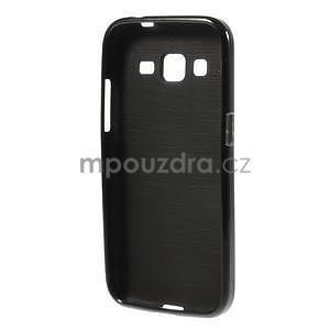 Lesklý gelový obal na Samsung Galaxy Core Prime - černý - 2