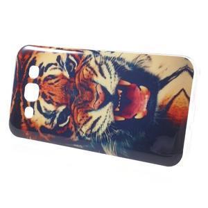 Gelový obal na mobil Samsung Galaxy E5 - tygr - 2