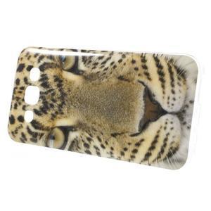 Gelový obal na mobil Samsung Galaxy E5 - leopard - 2