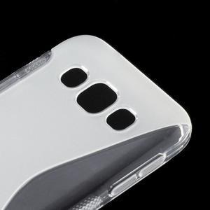 Transparentní gelový obal Samsung Galaxy E5 - 2