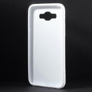 S-line gelový obal na Samsung Galaxy E7 - bílý - 2