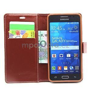 Hnědé pouzdro na Samsung Galaxy Grand Prime - 2