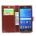 Hnědé pouzdro na Samsung Galaxy Grand Prime - 2/6