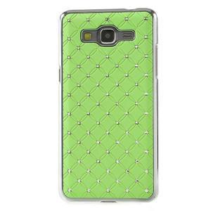 Zelený drahokamový kryt na Samsung Grand Prime - 2