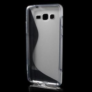 S-line gelový obal na Samsung Galaxy Grand Prime - šedý - 2