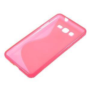 S-line gelový obal na Samsung Galaxy Grand Prime - rose - 2