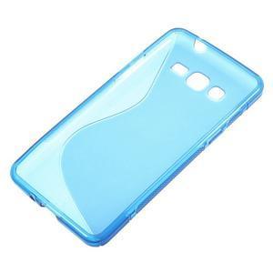 S-line gelový obal na Samsung Galaxy Grand Prime - modrý - 2