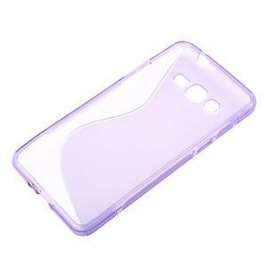 S-line gelový obal na Samsung Galaxy Grand Prime - fialový - 2