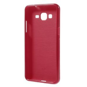Gelový kryt na Samsung Galaxy Grand Prime - červený - 2