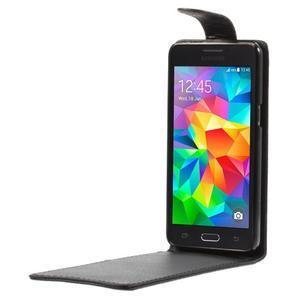 Černé flipové pouzdro na Samsung Galaxy Grand Prime - 2