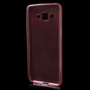 Ultra tenký obal na Samsung Galaxy Grand Prime G530H - červený - 2