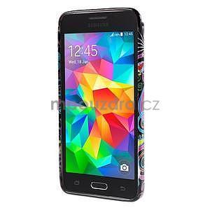 Gelový obal Samsung Galaxy Grand Prime G530H - barevné kruhy - 2